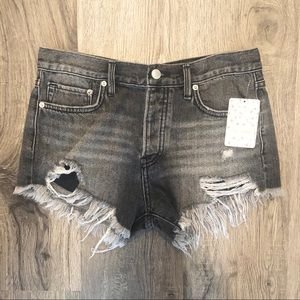 NEW Free People Denim Cutoff Shorts